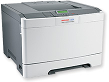 infoprint 1824 color laser printer